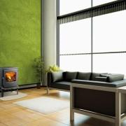 Poêle à bois double combustion DOVRE-525CB-03-zoom