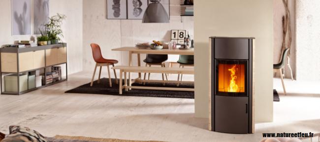 po le granul s pellets austroflamm polly 2 0 nature. Black Bedroom Furniture Sets. Home Design Ideas