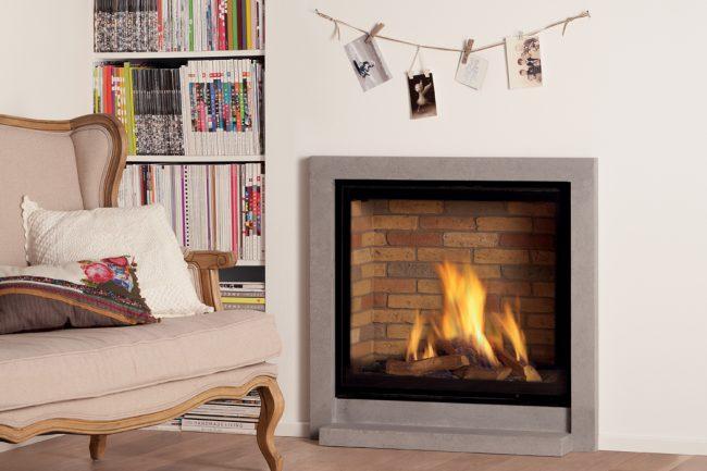 Foyer à gaz de chez Global Fires