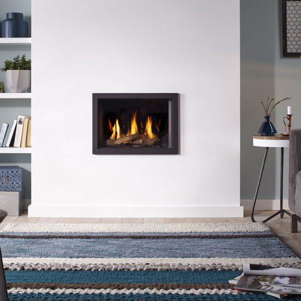 Foyer à gaz Global 55 CF de la marque Global Fires